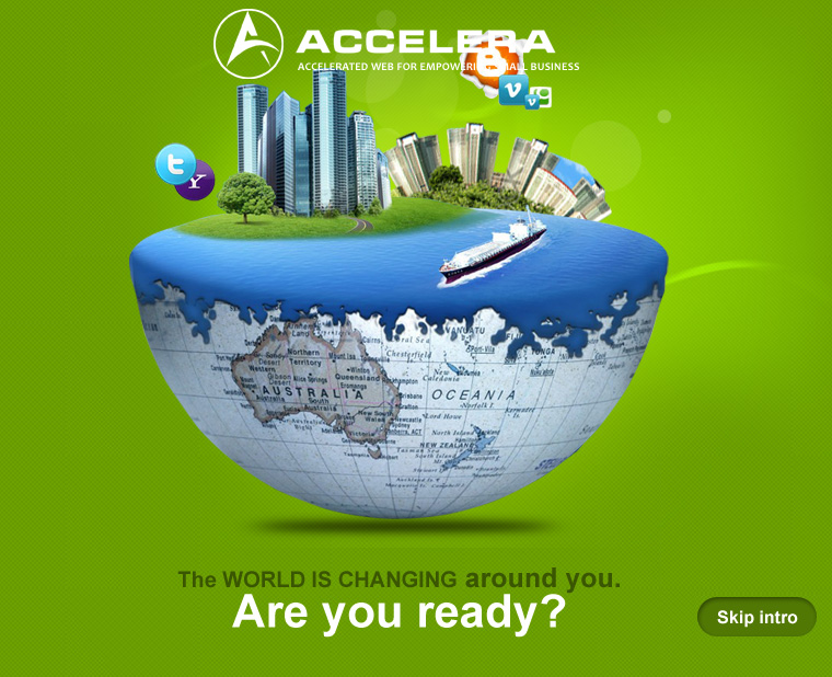 The world is changing around you. Are you ready? - Accelera Corporation