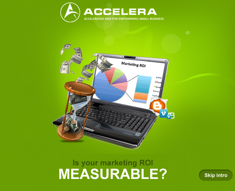 Is your marketing ROI measurable - Accelera Corporation